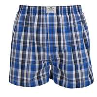 tom tailor herren boxershort blau kariert 1er pack. Black Bedroom Furniture Sets. Home Design Ideas