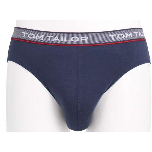 Bild von TOM TAILOR Herren Mini-Slip blau uni 1er Pack 0° Ansicht