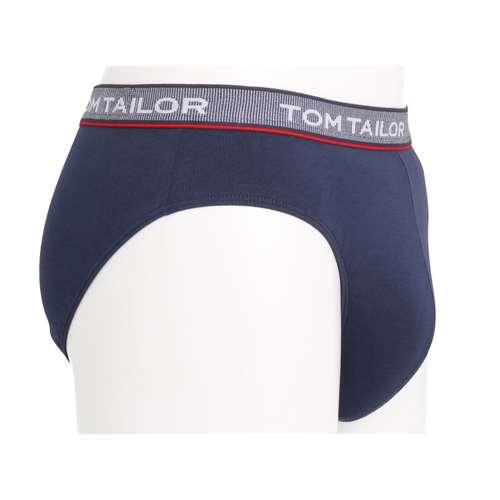 Bild von TOM TAILOR Herren Mini-Slip blau uni 1er Pack 290° Ansicht