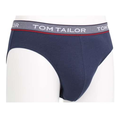 Bild von TOM TAILOR Herren Mini-Slip blau uni 1er Pack 330° Ansicht
