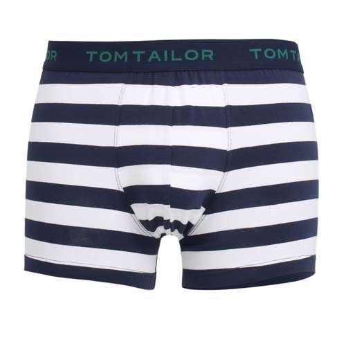 Bild von TOM TAILOR Herren Pants blau quergestreift 1er Pack 0° Ansicht