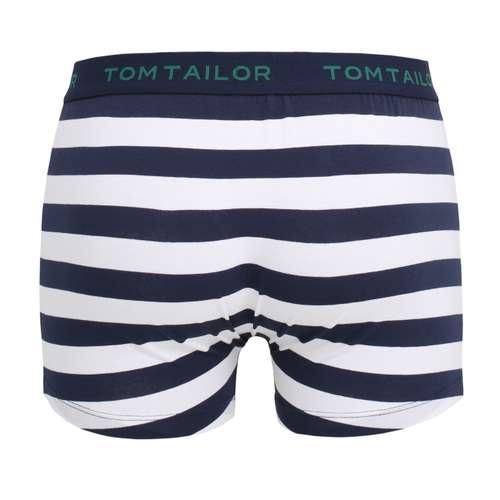 Bild von TOM TAILOR Herren Pants blau quergestreift 1er Pack 180° Ansicht
