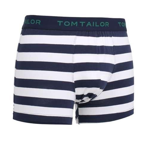 Bild von TOM TAILOR Herren Pants blau quergestreift 1er Pack 330° Ansicht