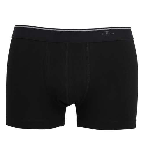 Bild von TOM TAILOR Herren Pants schwarz uni 1er Pack 0° Ansicht