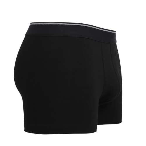 Bild von TOM TAILOR Herren Pants schwarz uni 1er Pack 290° Ansicht