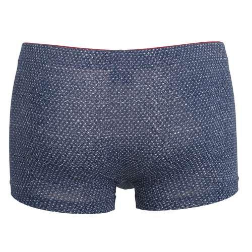 Bild von TOM TAILOR Herren Pants blau bedruckt 1er Pack 180° Ansicht