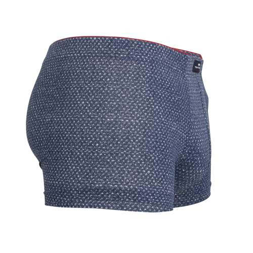 Bild von TOM TAILOR Herren Pants blau bedruckt 1er Pack 290° Ansicht