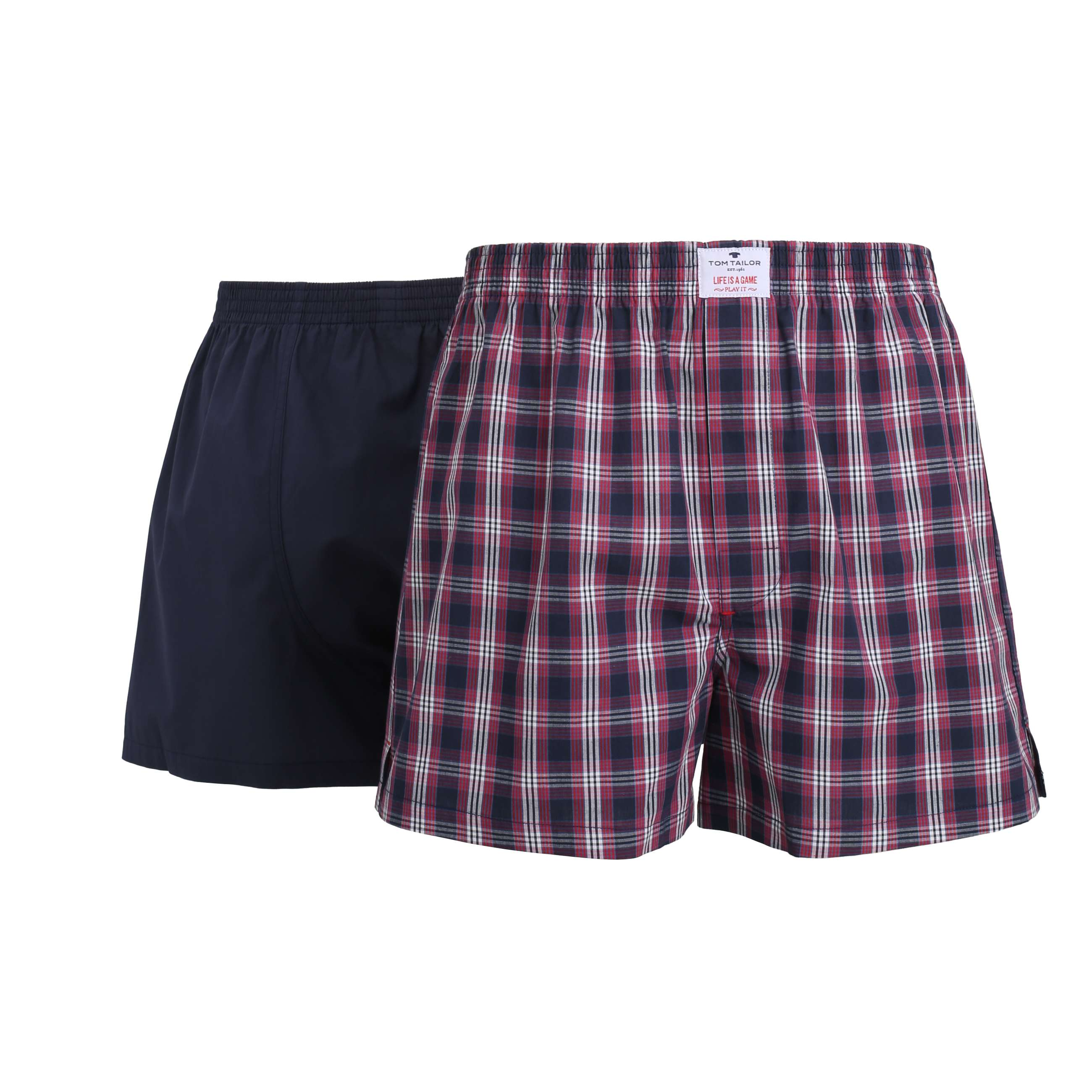 tom tailor herren boxershorts boxershort blau 2er pack. Black Bedroom Furniture Sets. Home Design Ideas