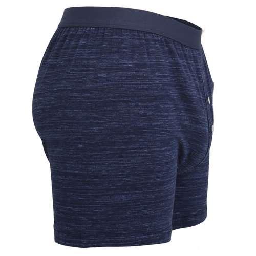 Bild von TOM TAILOR Herren Boxershort blau melange 1er Pack 290° Ansicht