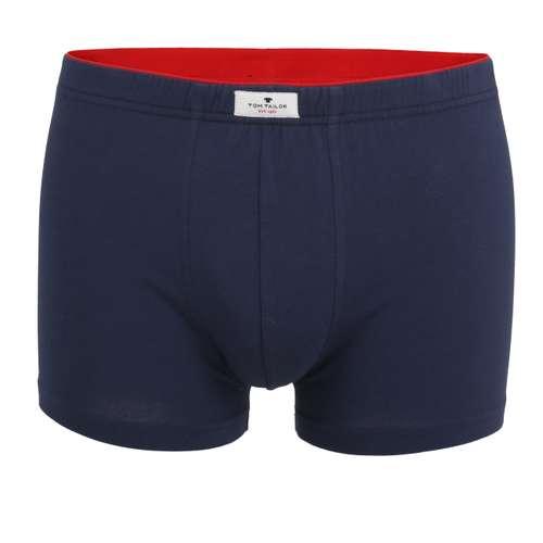 TOM TAILOR Herren Pants blau uni 1er Pack im 0° Winkel