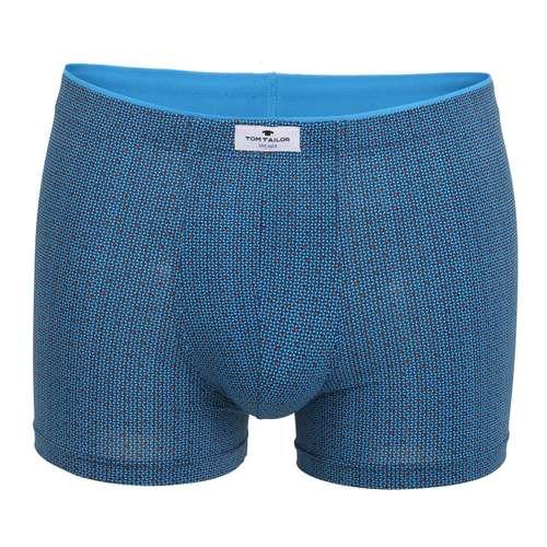 TOM TAILOR Herren Pants blau bedruckt 1er Pack im 0° Winkel