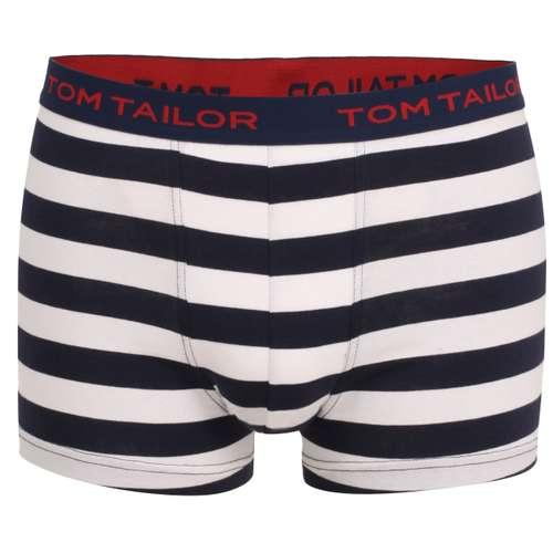TOM TAILOR Herren Pants blau quergestreift 1er Pack im 0° Winkel