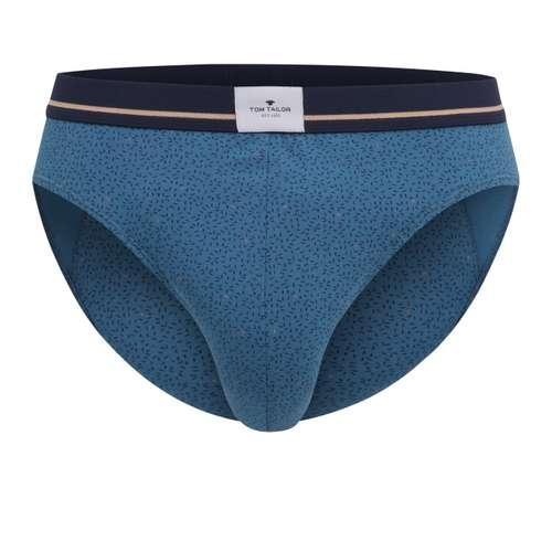 TOM TAILOR Herren Mini-Slip blau minimal 1er Pack im 0° Winkel