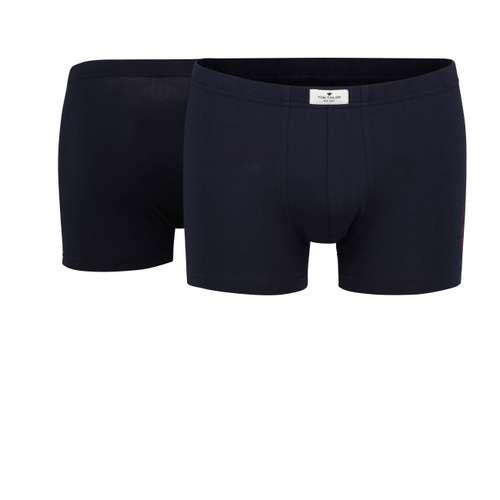 TOM TAILOR Herren Pants blau uni 2er Pack im 0° Winkel
