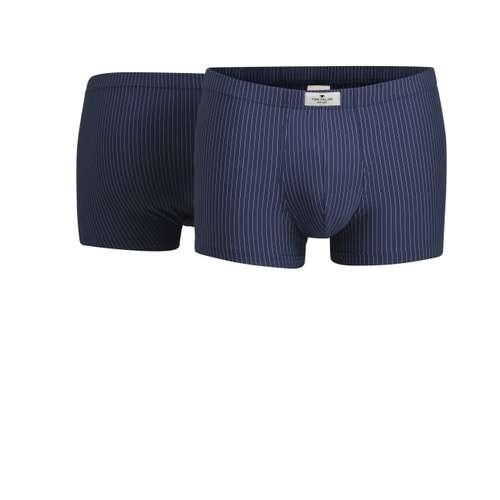 TOM TAILOR Herren Pants blau melange 2er Pack im 0° Winkel