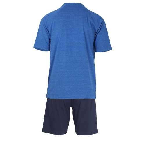 Bild von TOM TAILOR Herren Shorty blau bedruckt 1er Pack 180° Ansicht