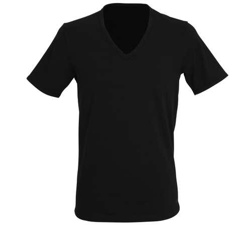 Bild von TOM TAILOR Herren Unterhemd schwarz uni 1er Pack 0° Ansicht