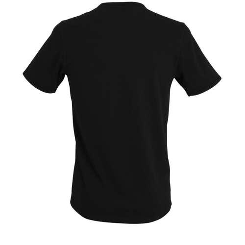 Bild von TOM TAILOR Herren Unterhemd schwarz uni 1er Pack 180° Ansicht