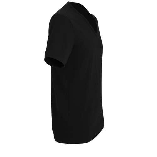 Bild von TOM TAILOR Herren Unterhemd schwarz uni 1er Pack 290° Ansicht