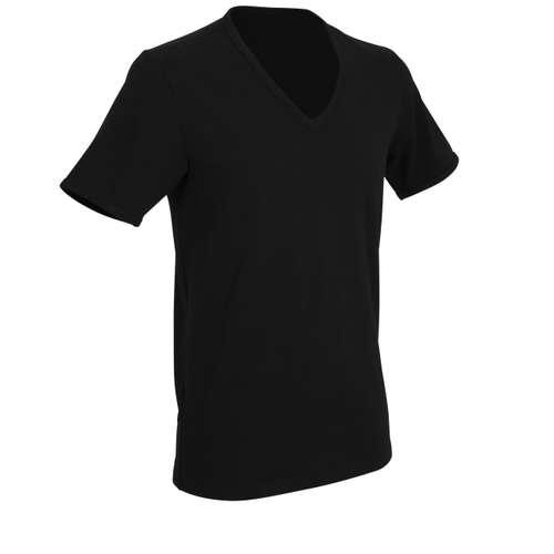 Bild von TOM TAILOR Herren Unterhemd schwarz uni 1er Pack 330° Ansicht