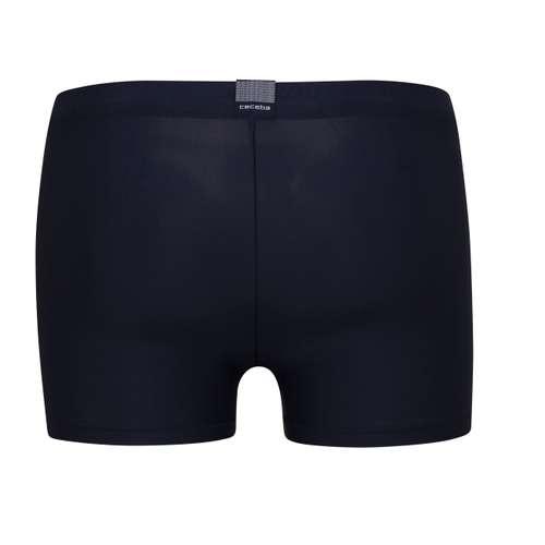 Bild von CECEBA Herren Bade-Pants blau uni 1er Pack 180° Ansicht