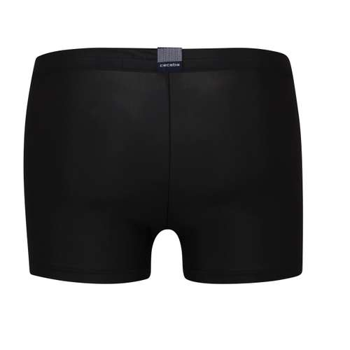 Bild von CECEBA Herren Bade-Pants schwarz uni 1er Pack 180° Ansicht