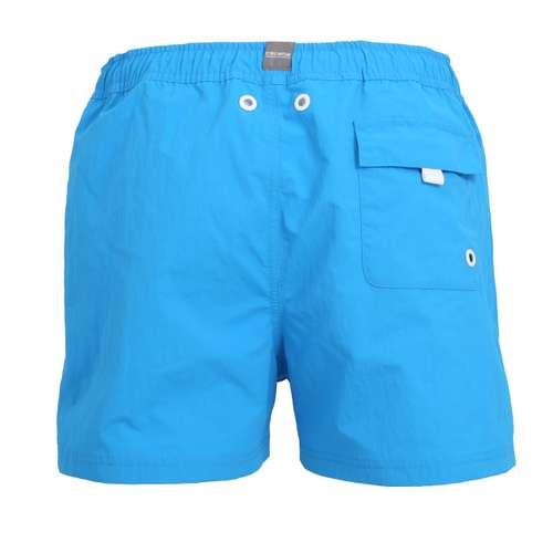 Bild von CECEBA Herren Badehose blau uni 1er Pack 180° Ansicht
