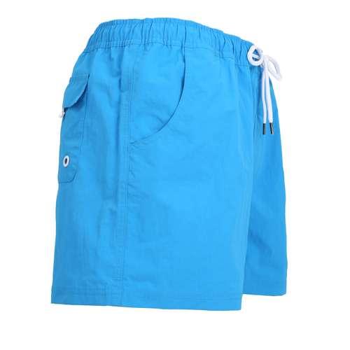 Bild von CECEBA Herren Badehose blau uni 1er Pack 290° Ansicht