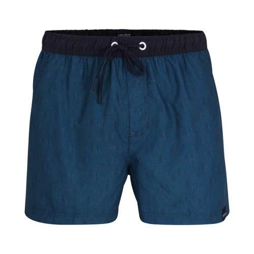 CECEBA Herren Bade-Pants grün bedruckt 1er Pack im 0° Winkel