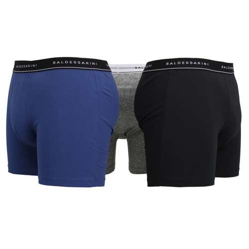 Bild von BALDESSARINI Herren Long-Pants blau melange 1er Pack 180° Ansicht