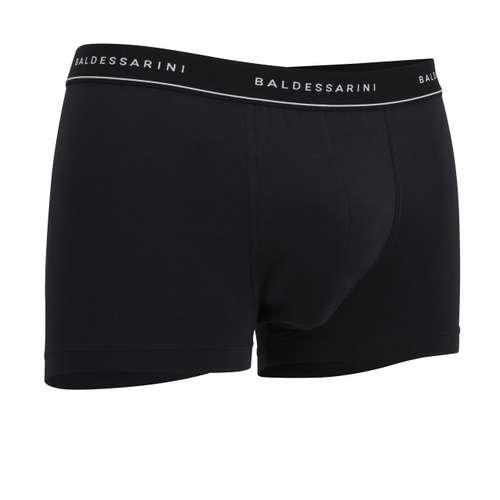 Bild von BALDESSARINI Herren Short-Pants schwarz melange 3er Pack 330° Ansicht