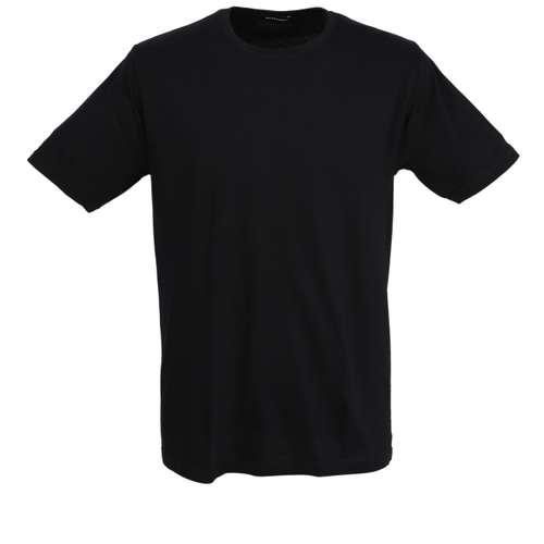 Bild von BALDESSARINI Herren Unterhemd schwarz uni 1er Pack 0° Ansicht
