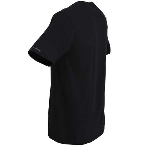 Bild von BALDESSARINI Herren Unterhemd schwarz uni 1er Pack 120° Ansicht