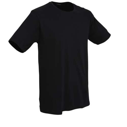 Bild von BALDESSARINI Herren Unterhemd schwarz uni 1er Pack 330° Ansicht