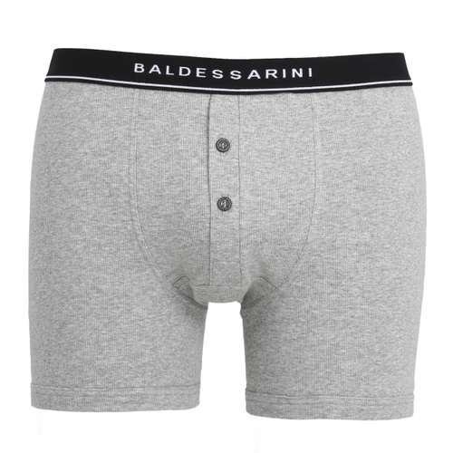 Bild von BALDESSARINI Herren Long-Pants grau melange 1er Pack 0° Ansicht