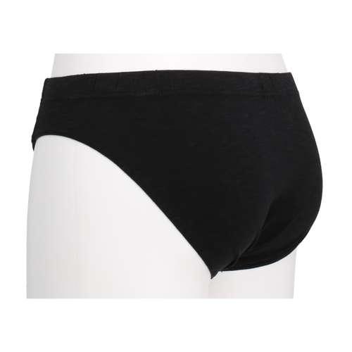 Bild von BALDESSARINI Herren Mini-Slip schwarz melange 1er Pack 120° Ansicht