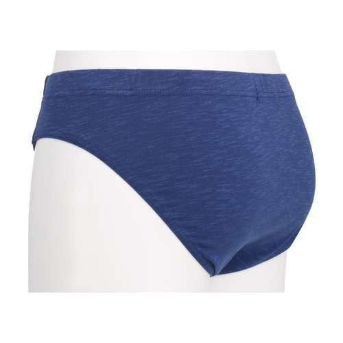 Bild von BALDESSARINI Herren Mini-Slip blau melange 1er Pack 120° Ansicht