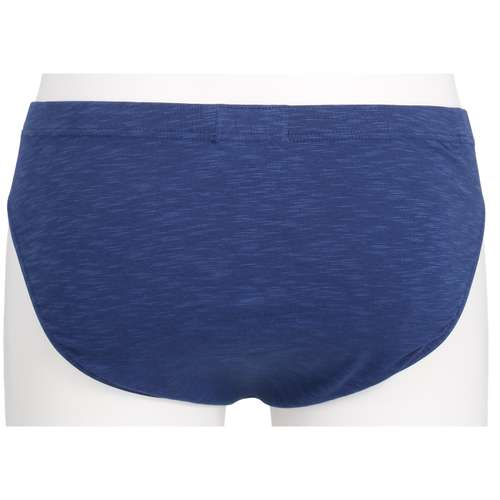 Bild von BALDESSARINI Herren Mini-Slip blau melange 1er Pack 180° Ansicht