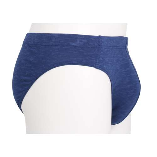Bild von BALDESSARINI Herren Mini-Slip blau melange 1er Pack 290° Ansicht