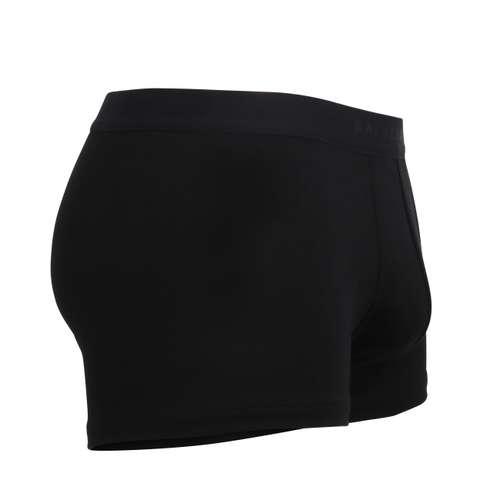 Bild von BALDESSARINI Herren Pants schwarz uni 1er Pack 290° Ansicht