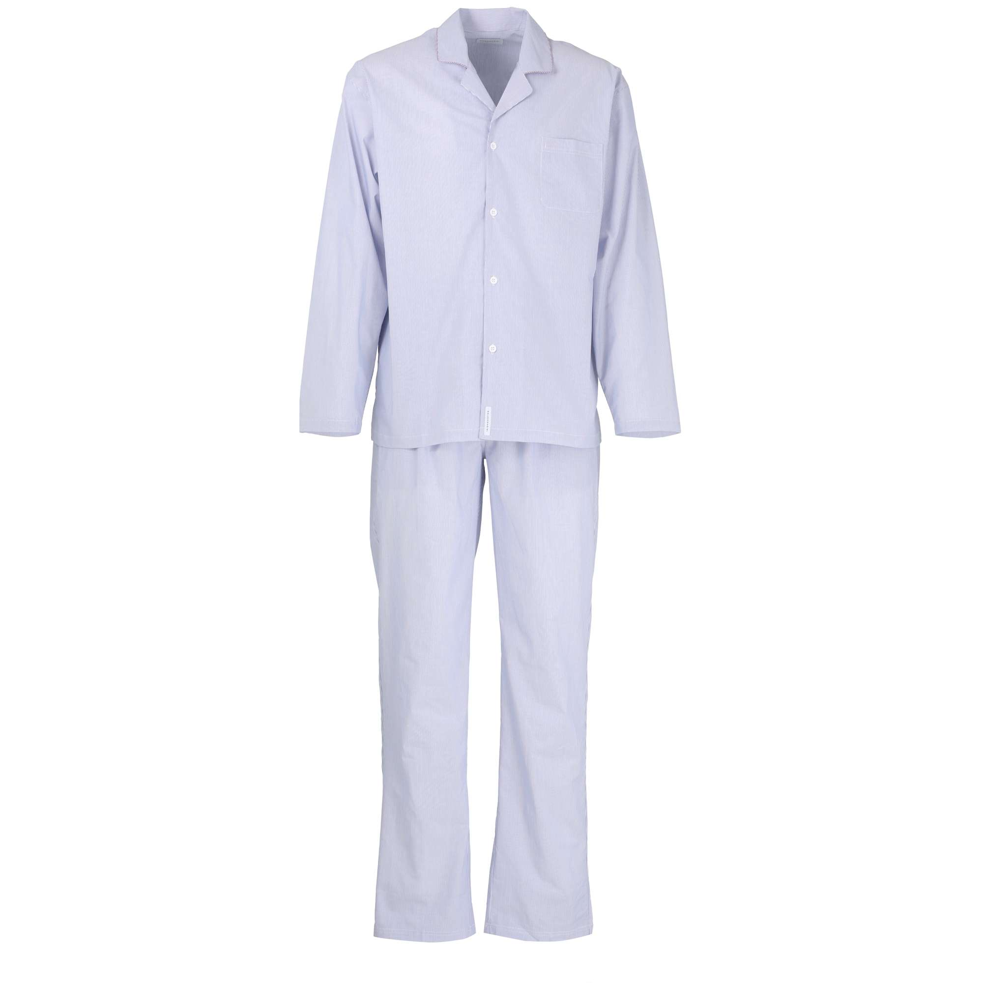 official photos 12c23 203d0 BALDESSARINI Herren Pyjama blau längsgestreift 1er Pack jetzt kaufen