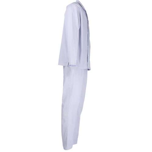 Bild von BALDESSARINI Herren Pyjama blau längsgestreift 1er Pack 290° Ansicht