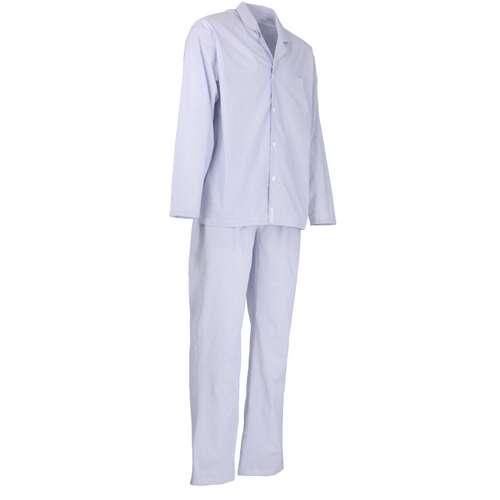 Bild von BALDESSARINI Herren Pyjama blau längsgestreift 1er Pack 330° Ansicht