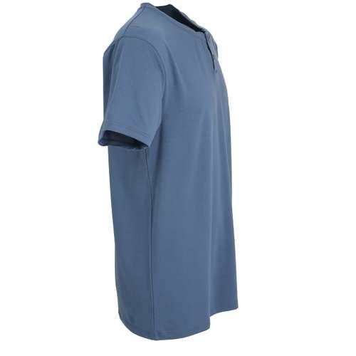 Bild von BALDESSARINI Herren Shirt grau uni 1er Pack 290° Ansicht