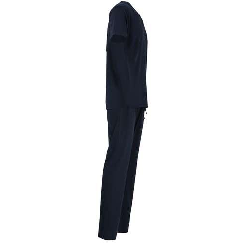 Bild von BALDESSARINI Herren Pyjama blau uni 1er Pack 290° Ansicht