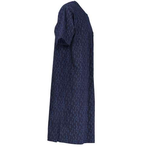 Bild von GÖTZBURG Herren Nachthemd blau bedruckt 1er Pack 290° Ansicht