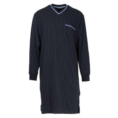 GÖTZBURG Herren Nachthemd blau minimal 1er Pack im 0° Winkel