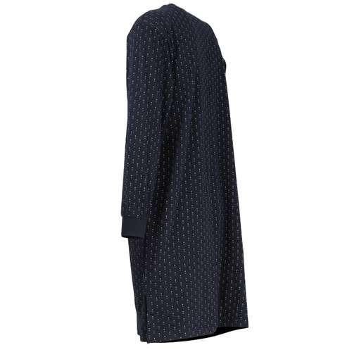 Bild von GÖTZBURG Herren Nachthemd blau minimal 1er Pack 120° Ansicht