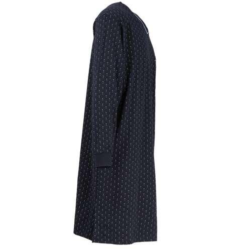Bild von GÖTZBURG Herren Nachthemd blau minimal 1er Pack 290° Ansicht