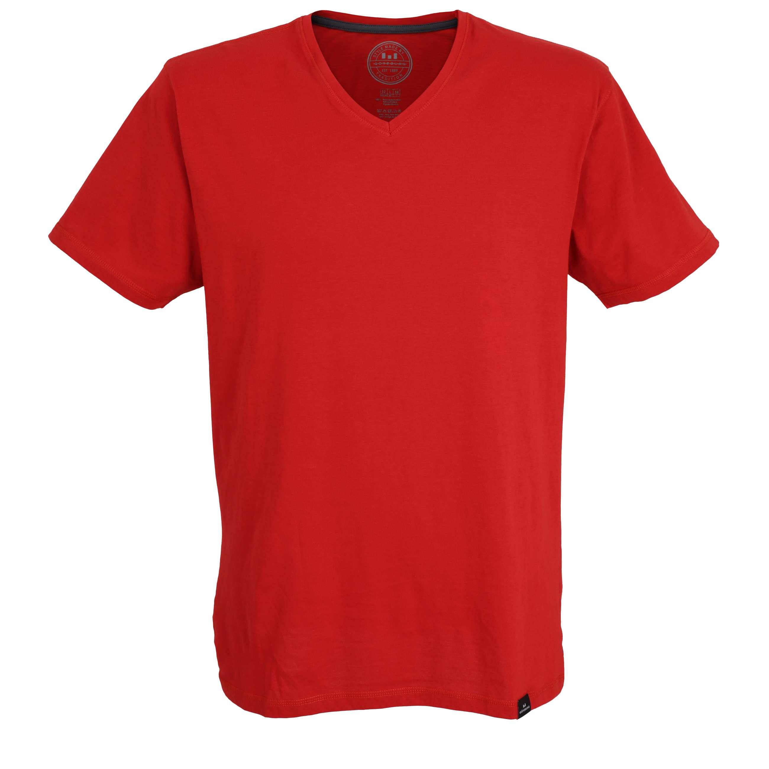 g tzburg herren t shirt shirt american shirt rot uni. Black Bedroom Furniture Sets. Home Design Ideas